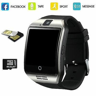 5pcs Bluetooth Smart Watch Phone SIM GSM For Android Samsung LG Huawei Lenovo