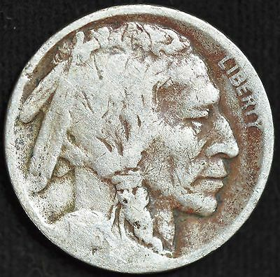1916 D, Buffalo Nickel, Good Condition, Dark, Free Shipping in USA, C838