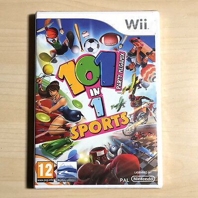 101 in 1 Sports Party Megamix (Nintendo Wii) PAL New Sealed Video Game FAST POST