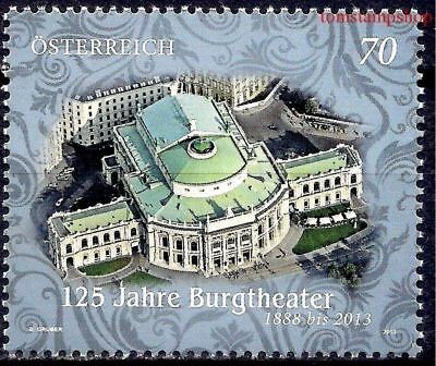 Austria 2013 Burgtheater Vienna Theatre Buildings Architecture 1v MNH