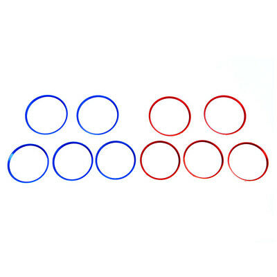 5x Air Vent Outlet Ring Cover sticker Decoration For Mercedes Benz A/B/GLA Class