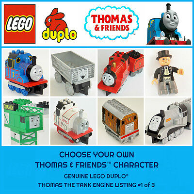 Duplo Thomas Friends Trains Other Characters Genuine Lego