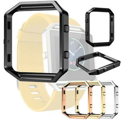 Stainless Steel Replacement Watch Frame Holder Shell Case For Fitbit Blaze Watch