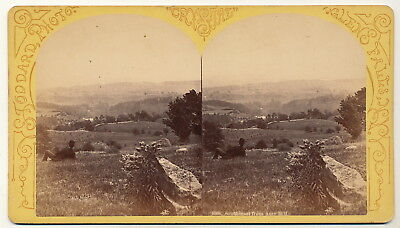 Stereo - South-east from Amy Hill USA - ca. 1890er