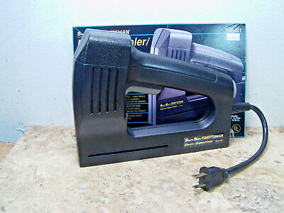 Pre-owned & Tested Sears/Craftsman #9-68481 Electric Stapler Brad Nailer