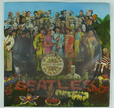 Beatles. St.Peppers Lonely Hearts Club Band. Picture Disc / Platte. West Germany