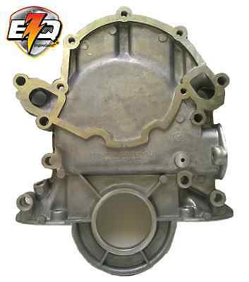 FORD 302 / 351W TIMING COVER with DIPTUBE HOLE & FUEL PUMP MOUNT
