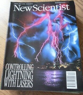 NEW SCIENTIST MAGAZINE*No. 1998 OCTOBER 7 1995 *ENGLISH*WEEKLY*SCIENCE*LIGHTNING
