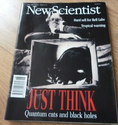 NEW SCIENTIST MAGAZINE*No. 1976 MAY 6 1995 *ENGLISH*WEEKLY*SCIENCE*BLACK HOLES