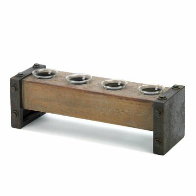 Tealight Candles Holders, Wooden Antique Candle Holder Decor For Table Top