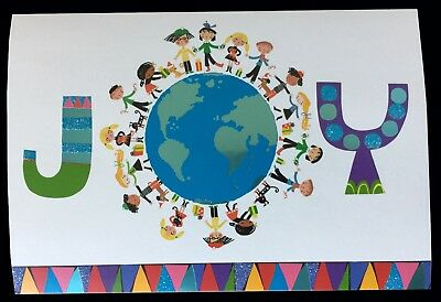 Unicef Christmas Cards.Unicef Holiday Cards Joy Kids Around The World Box Of 12 Brand New