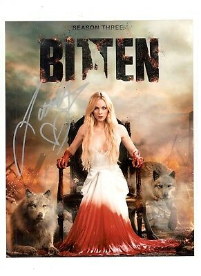 Laura Vandervoort Authentic Signed Autograph Ottawa Comiccon 2017  Smallville