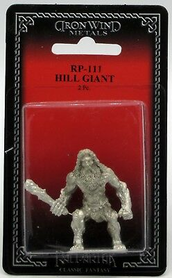 Ral Partha RP-111 Hill Giant (Monsters) Ogre Champion Fantasy Barbarian Warrior