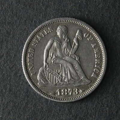 1873-P Seated Liberty Dime Arrows Great Deals From The TECC Bargain Bin