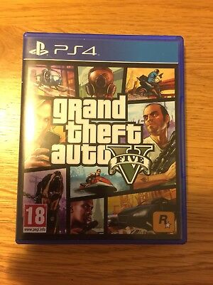 Grand theft auto 5 PlayStation 4 GTA V PS4