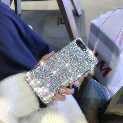 Luxury Bling Glitter Shockproof Soft Silicone Case Cover For Samsung Galaxy J3