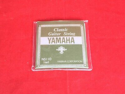 YAMAHA Classic guitar set string NS110 Set import Japan