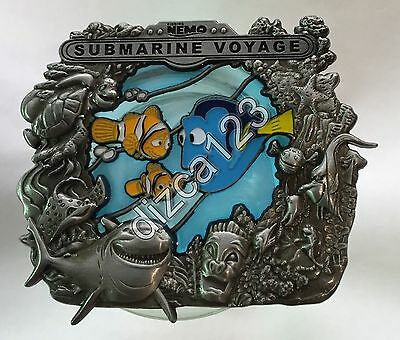 Disney Pin WDI D23 Stained Glass Attractions - Finding Nemo LE