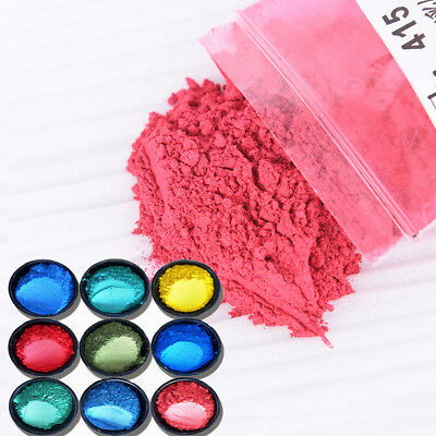DIY Mineral Mica Powder Soap Dye Glittering Soap Colorant Pearl Powder 10g FT