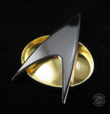 Star Trek Tng The Next Generation Communicator / Badge / Pin / Neuware