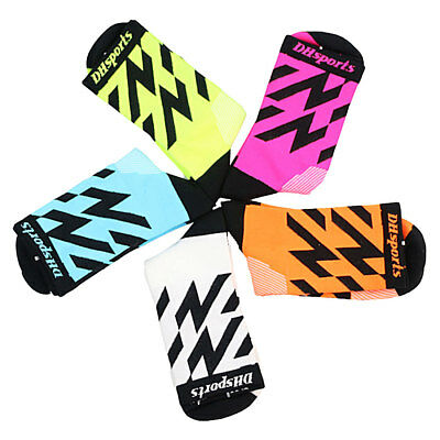 Mens Womens Riding Cycling Bicycle Sports Breathable Basketball Football Socks