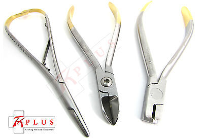 distal end hard wire cutters orthodontic pliers mathieu needle holder dental Set