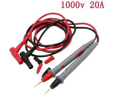 New Best Quality 10A Digital Multimeter Test Leads Probes Volt Meter Cable BW