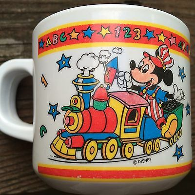 Disneyland Mickey Mouse Kibouki Child's Cup Train