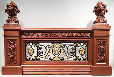 RMS TITANIC Grand Staircase Balustrade Set- over 3 feet long!