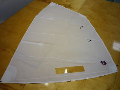 Optimist sailboat dinghy TRAINING Sail, complete with battens, tell tails