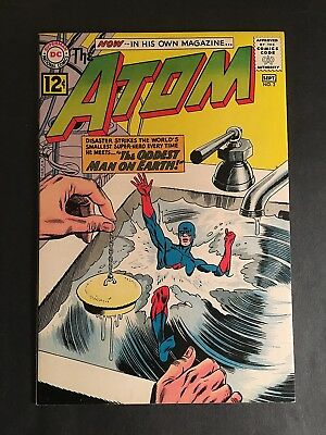 The Atom #2 Dc -1962 9.2+ Nm White Pages