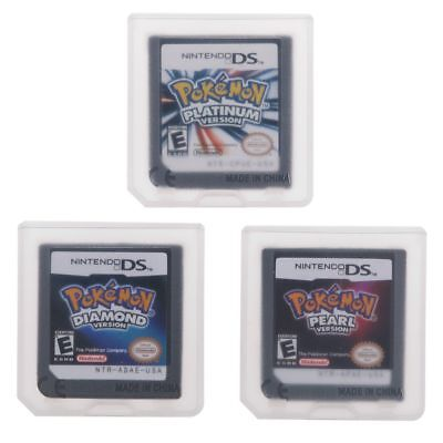 Game Cards For Pokemon Platinum +Diamond +Pearl Nintendo 3DS DSI NDSi NDS Lite