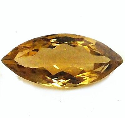 NATURAL MADEIRA CITRINE GEMSTONE LOOSE MARQUISE CUT 18.4 x 8.8 mm AMAZING GEM