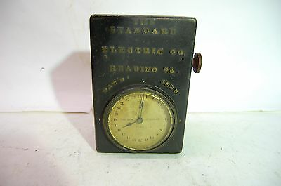 VINTAGE - THE STANDARD ELECTRIC CLOCK TIME CO. - TIMER - Pat. 1898 - Heavy Metal