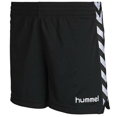 Hummel Damen Stay Authentic Poly Shorts black