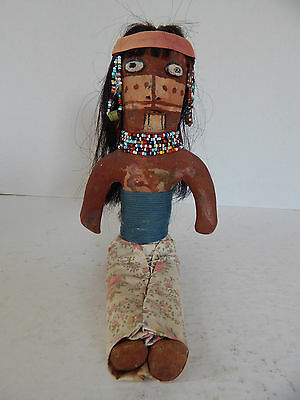 Vintage Mojave Indian Pottery Doll By Anne Feilds.