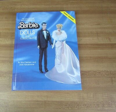 The Collectors encyclopedia of Barbie Dolls Book DeWein and Ashabraner