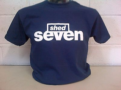 Shed Seven 'Navy' T-Shirt