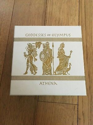 2015  2 oz silver Athena Goddesses Of Olympus Series With OGP and COA DEAL!