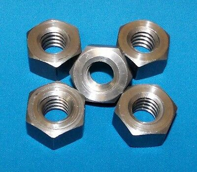 304050-nut 5/8-8 acme hex nut, steel 5 pack for acme right hand threaded rod