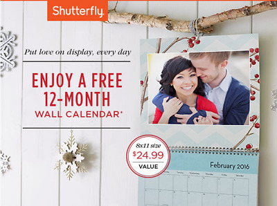 shutterfly free 8x11 wall calendar code starts with bk2f exp 1 31 18 cad picclick ca. Black Bedroom Furniture Sets. Home Design Ideas