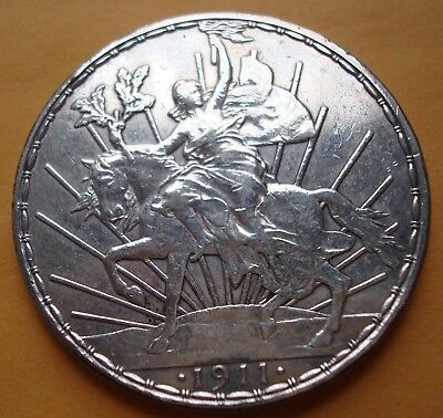 1911 Mexico $1 Peso Horse Silver please see the coin About Beautiful