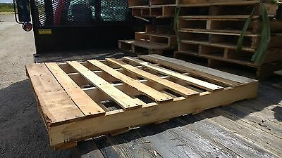 "48""x45"" Chicagoland Wood Pallet Shipping larger than 48""x40"" 48x40 48"" x 40"""