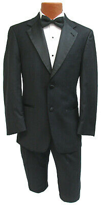Black Joseph Abboud Tribeca Tuxedo with Pants Prom Wedding Cheap Tuxedo Set