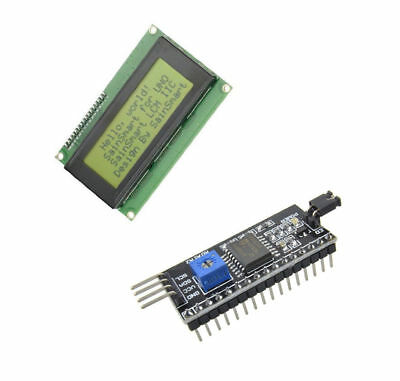 2004 20x4 LCD Gelb Anzeige module+IIC/I2C/TWI/SPI Serial interface Tafel AIP