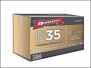 "Arrow  6mm 1/4"" P35 Staples Box 5000"