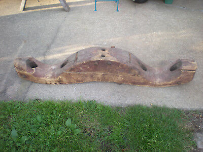"""HUGE ANTIQUE VINTAGE OX YOKE. Great for ManCave! Approx 53"""" long."""
