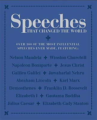 Speeches that Changed the World by Bounty Book The Cheap Fast Free Post