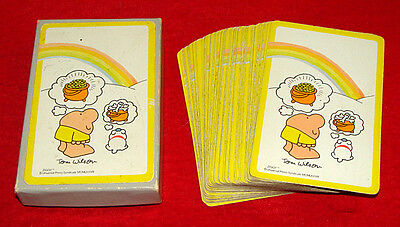 Boxed Deck 1978 Ziggy Cartoon Character Playing Cards by Tom Wilson  Comic Strip