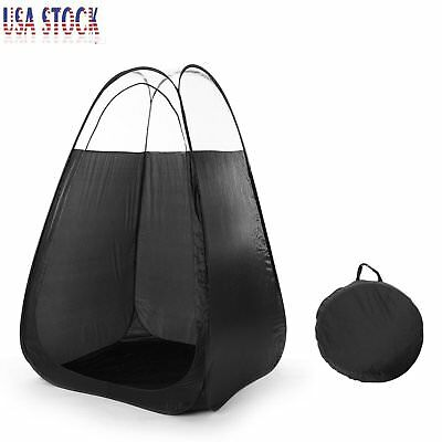 Portable Pop Up Spray Tanning Tent Airbrush Sunless Tan Mobile Booth Bag K8  sc 1 st  PicClick & MOBILE POP up spray tanning tent replacement bag carrying case ...